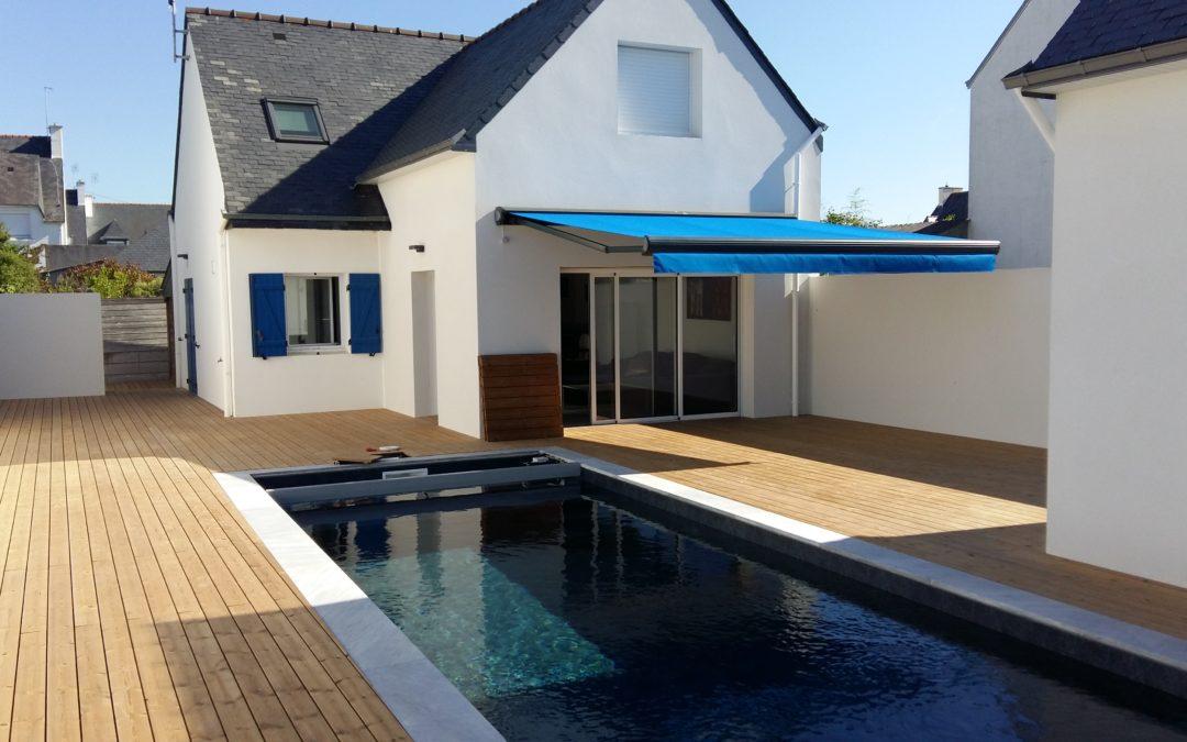 Rénovation et extension avec piscine à Lesconil